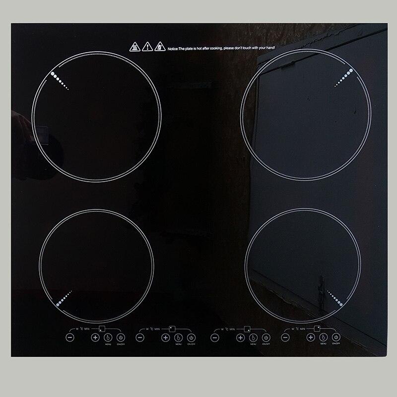 2/3/4 teste di Built-In di Induzione Fornello A Infrarossi Incorporato Costruito in Elettromagnetica Cottura Bruciatore Piatto Caldo Ad Alta Potenza stufa