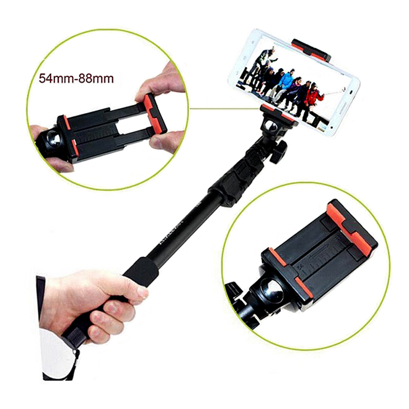 buy yunteng telescopic handheld selfie stick camera monopod with tripod mount. Black Bedroom Furniture Sets. Home Design Ideas