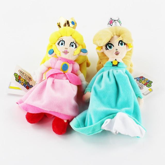 20 cm super mario bros princesse rosalina peach princesse jouets en