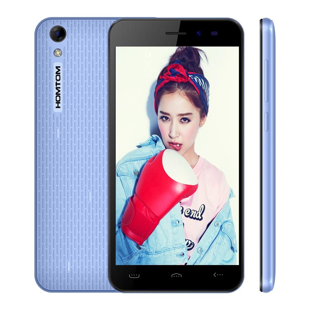 bilder für Original Homtom HT16 Pro MTK6737 Quad Core Android 6.0 Mobile telefon 5,0 Zoll Handy 2G + 16G Dual Kameras Entsperren 4G Smartphone