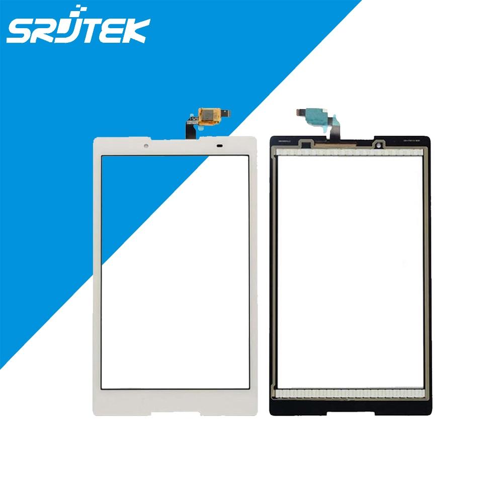 ФОТО White For Lenovo Tab 2 A8-50F Touch Screen Digitizer Sensor Front Glass Sensor Lens Free Shipping