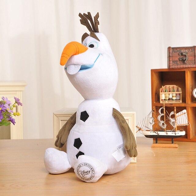 Плюшевая игрушка Олаф мультфильм Холодное Сердце 30 см 1