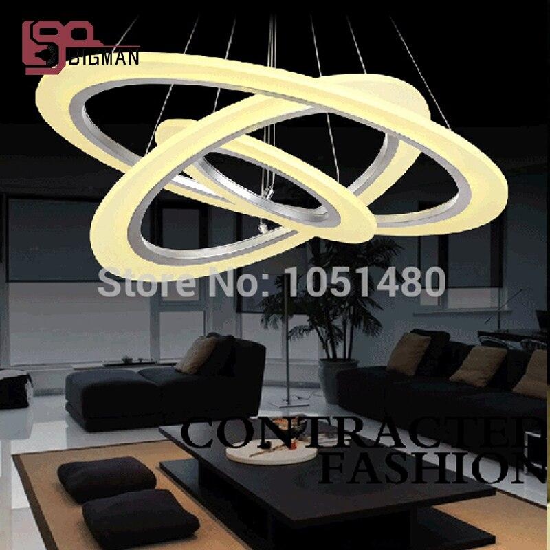 Eclairage Salon Moderne ₪nouveau acrylique moderne led lustre éclairage salon lumières - a35