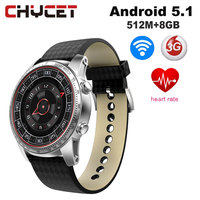 Chycet KW99 Smart Watch Android 5 1 3G WIFI GPS Watch Smartwatch For IOS Android PK