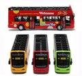 2015 детские игрушки автобус 1:32 масштаб сплава Экскурсионный автобус музыка мигающий игрушки для детей стайлинга автомобилей дети игрушки juguetes 1 шт.