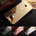 Coque Для Xiaomi Redmi 4 Pro Случай Роскошь Розовое Золото Покрытие Зеркало телефон Случаях Для Xiaomi Redmi 4 Задняя Крышка Redmi 4 Pro Простые