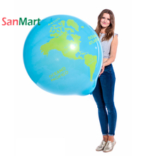 Giant Big Globe Balloon 36inch 90cm Blue Earth Day Ocean Undersea Space Outer UFO Party Decorations Globos Ballon