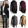 Бесплатная Доставка свадебные платья свитер пальто 2017 женщин новая мода осень зима шерстяные пальто куртки 3XL