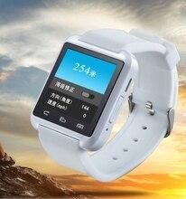 Armbanduhr bluetooth smartwatch sport smart watch tragbare geräte für samsung sony htc lg android smartphones