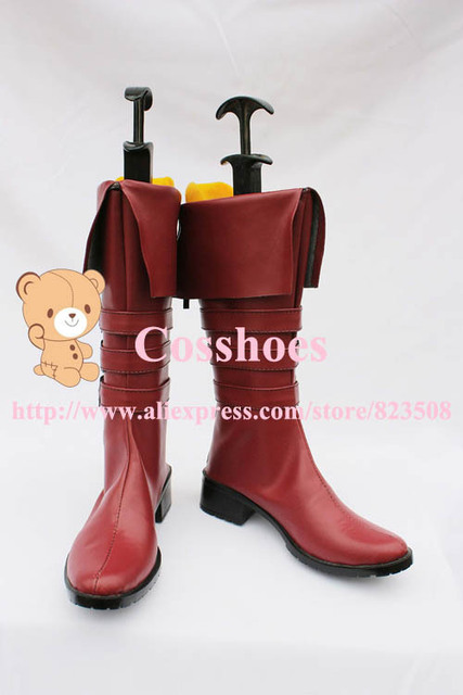 Custom made brown Perona Shoes from One Piece Cosplay