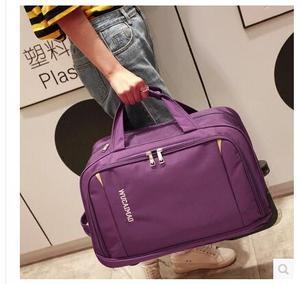 Image 3 - Mężczyźni bagaż podróżny torba kobiety Oxford walizka podróż Rolling torby na kółkach podróż Rolling torby biznesowa na kółkach torby na kółkach