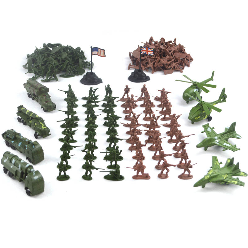 8 Missile vehicles Fighter Helicopter and 200pcs Mini Soldier Toy Set Model Toy lilliputian model toys world War ii plastic the new hot promotions 1 30 military vehicles dongfeng 11a missile launch vehicle model alloy office decoration