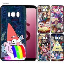 Gravity Falls Scrub Silicone Soft Cases Cover Shell Fundas for Samsung Galaxy S9 S8 Plus S7 S6 Edge S8+ S9+ S8Plus S9Plus(China)