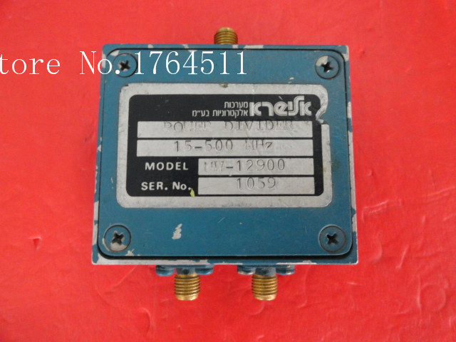 [BELLA] KTEIFK MW-12900 15-500MHz A Two Supply Power Divider SMA
