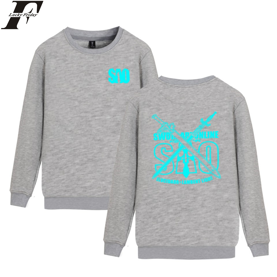 Sword Art Online Anime Sweatshirt New Design For Couple Unisex
