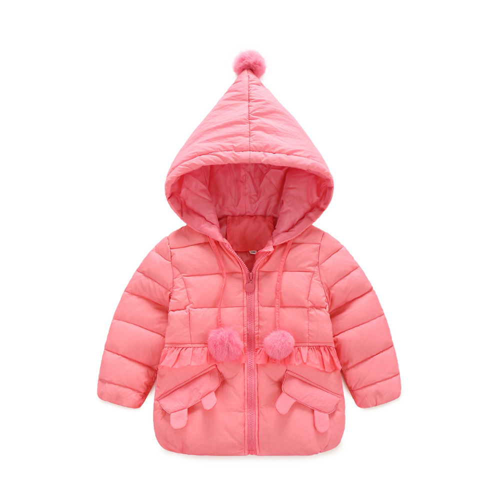 MXY autumn winter boys girls baby coat cotton down jacket little Flounced hooded fashion 3-5T for children warm thick outwear 2016 short paragraph winter down thick jacket fashion girls boys cotton hooded coat fashion hildren s jacket warm outwear 16a12