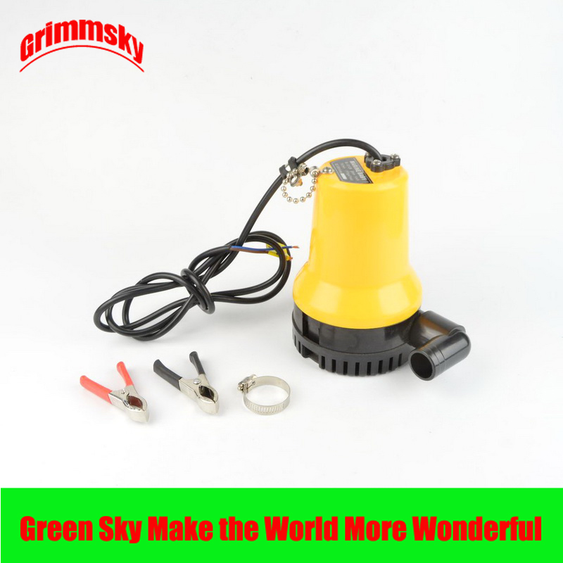 Max 1100GPH 50W bilge pump 12v for boat kayak fountain garden irrigation swimming pool cleaning farming