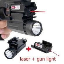 цена на Outdoor Tactical Red Dot Laser Sight Pistol Hunting Gun Scope Laser Shooting Optics Riflescopes Glock 17,19,20,21,22,23,30,31,32