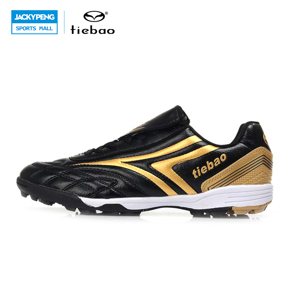 TIEBAO Football Shoes Soccer Shoes TF Turf Football Boots Botas De Futbol Football Shoes Kids Fussball Shoes Football Futbol tiebao soccer boots soccer turf shoes artificial turf for football botas de futbol brand sneakers 2017 soccer shoes ace