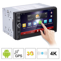 Car DVD GPS Player 1028 * 600 Capacitive HD Touch Screen Radio Stereo 8G / 16G iNAND Rear View Camera Parking Android 5.1.1