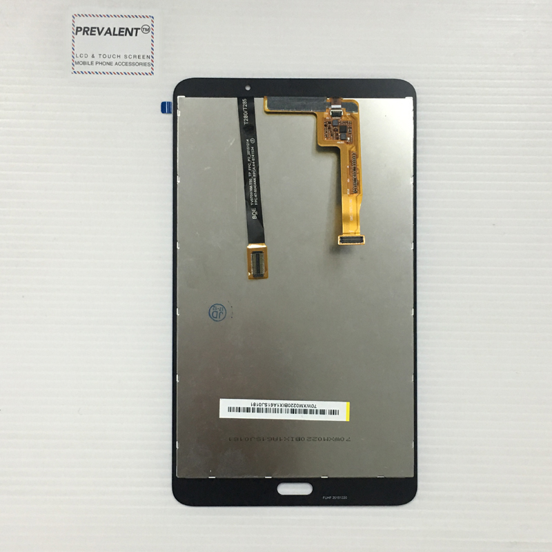 For Samsung Galaxy Tab A 7.0 (2016) SM-T280 T280 Touch Screen Digitizer Sensor Glass + LCD Display Panel Monitor Assembly free shipping for samsung galaxy tab a 7 0 2016 sm t285 t285 touch digitizer lcd screen display assembly replacement