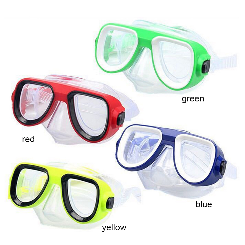 2020 New Children's Silicone Diving Goggles Soft And Comfortable HD Anti-fog Mirror Children's Water Toys