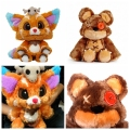 LOL Gnar Bear Plush dolls World Championship lol The Missing Link Soft Stuffed Annie's Bear toy Birthday gift