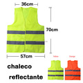 6PCS High Visibility Night Working Protection Clothing Reflective Safety Vest Jacket , Traffic Work Cleaner Chaleco Reflectante