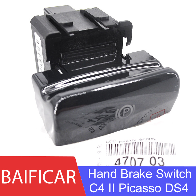 Baificar New Genuine Bright Surface Electronic Hand Brake Switch Parking Brake Sensor 470703 For Citroen C4