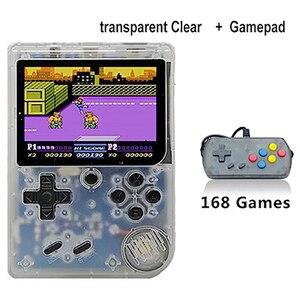 Image 5 - 레트로 휴대용 핸드 헬드 비디오 게임 플레이어 168 1 핸드 헬드 콘솔 8 비트 3.0 인치 쿨 게임 보이 콘솔 컬러 lcd 키즈 게임 패드