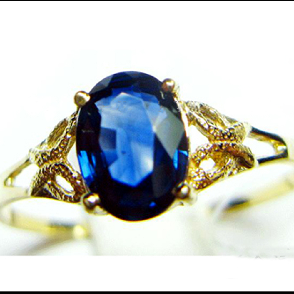 About 0 5 Carat High Rated Aaaa Natural Sapphire Ring 18k