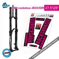 2018 rockshox BOXXER передняя вилка для горного велосипеда  наклейки для велосипеда rockshox  Передние наклейки на вилке