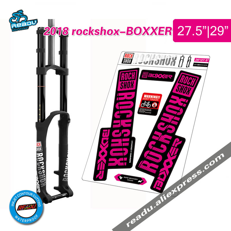 2018 rockshox BOXXER mountain bike front fork decals bicycle rockshox front fork stickers2018 rockshox BOXXER mountain bike front fork decals bicycle rockshox front fork stickers
