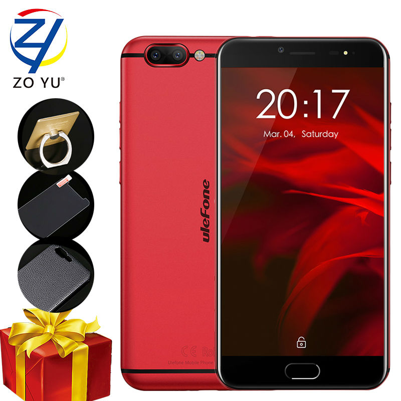 Ulefone Gemini Pro Smartphone 4G Android 7.1 Mobile Phone MTK6797 Deca Core 4GB+64G Camera 13.0M 5.5 HD Touch 3680mAh Cell phone