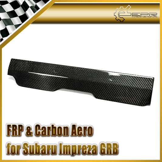 EPR Car Styling For Impreza GRB Carbon Fiber Pulley Cover Body Kit Glossy Fibre Finish Engine Interior Accessories Racing Trim