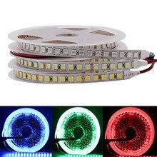 DC 12V 24V 5m 600 LED 5050 sttrip LED flexible LED Tape light 120 led/m, white lighting light/warm white/RGB