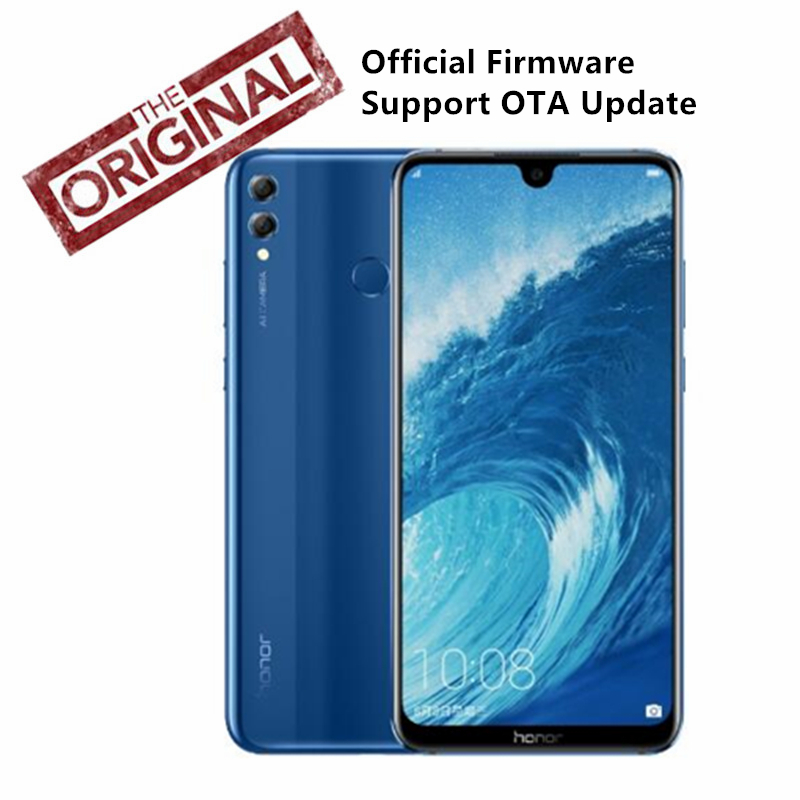 "Huawei Honor 8X Max мобильный телефон 7,12 ""большой экран OTA обновление 4900 мАч LTE смартфон 8X Max Android 8,1 Octa Core экран"