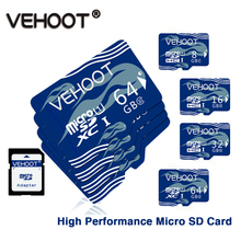 Cartoon Jellyfish Memory Card sd card 64gb Micro sd 32 gb UHS-1 carte memoire sd classe 10 mikro sd for Smartphone VEHOOT V02