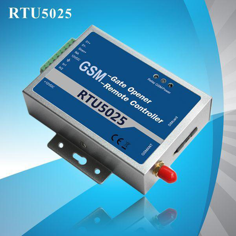 Free shipping GPRS/3G Gate Opener Remote controller unit GSM Pulse Counter Alarm vending machine alarm GSM gate opener(RTU5025) gsm gate opener gprs 3g door opener rtu5025 remote access control unit 999 users open gate