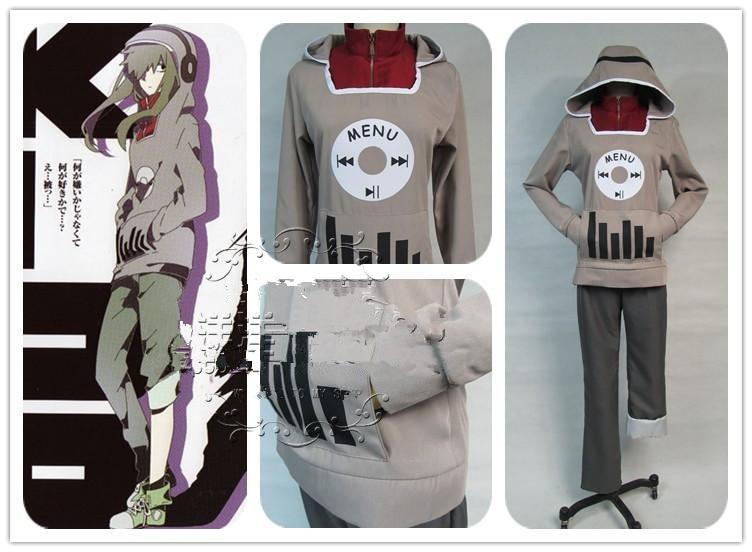 Kagerou Project Jinzou Enemy KIDO TSUBOMI Anime Cosplay Costume Custom Made Hoodie Uniform
