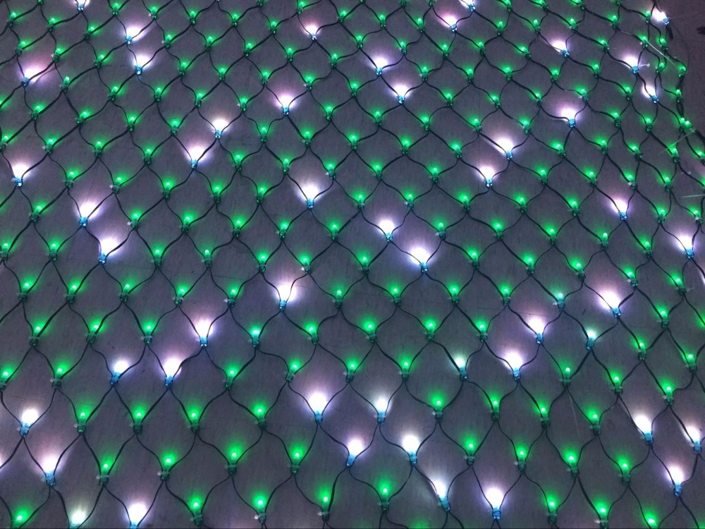 individually led full color net pixel
