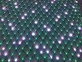 Individualmente LED full color pixel líquido; DC12V WS2811 controlada; todo o fio PRETO; 20 leds (2 m) * 20 diodos emissores de luz (2 m)