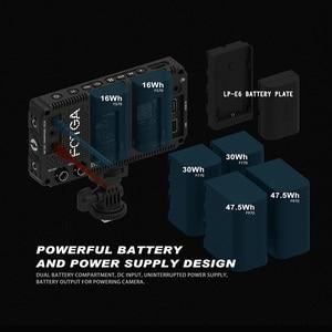 "Image 4 - FOTGA A50T 5 ""FHD กล้องหน้าจอสัมผัส Field Monitor สำหรับ sony พร้อมรองเท้าร้อน/เย็น mount Adapter 3/8 Inch M6 อะแดปเตอร์"