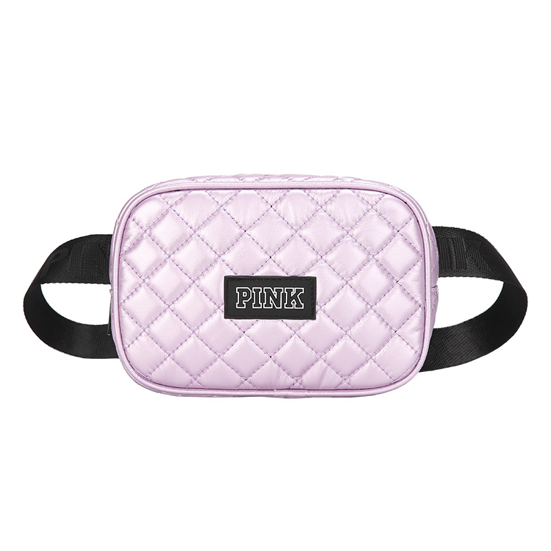 FCCEXIO 6 Colors Women Travel Waist Bags Love Pink Handbags High Quality Leather Bags Waterproof Bag Camera Waistpack Waist Bag in Waist Packs from Luggage Bags