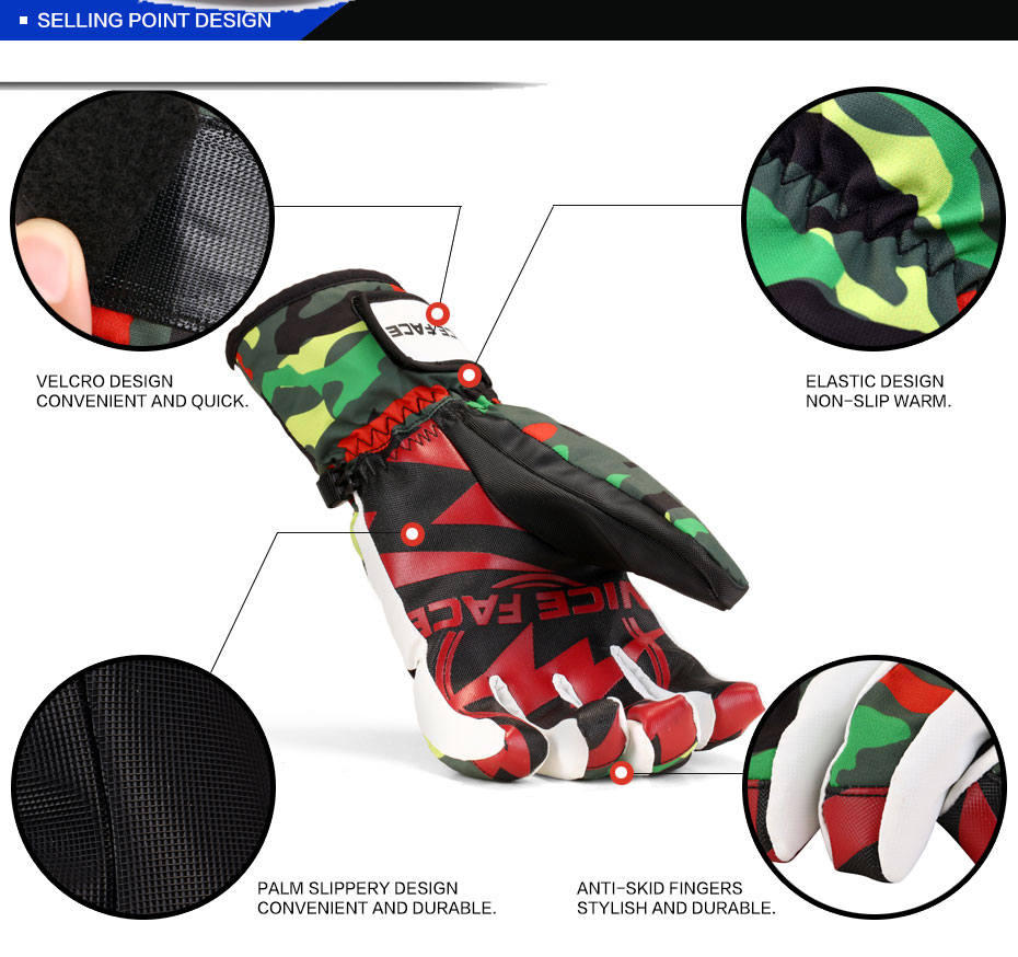 China ski gloves Suppliers