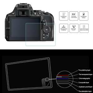 LCD Screen Protector for Nikon D5600 DSLR Camera Tempered Glass Protective Cover