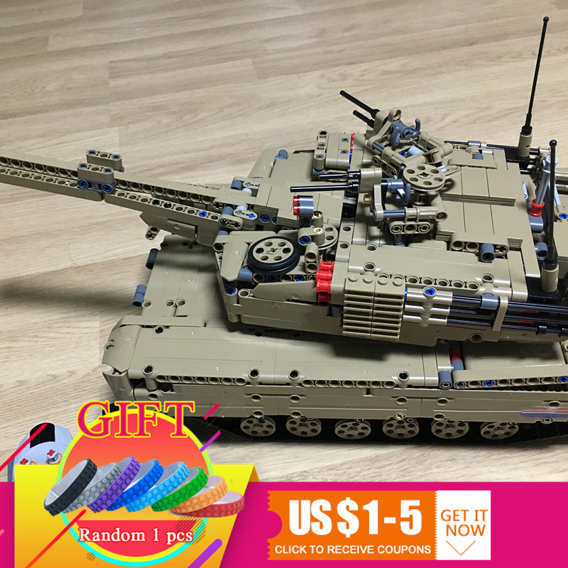 20070 1572Pcs Military War Series The Remote Control Tank Set Children Building Blocks Bricks Educational Toys lepin 1572pcs moc technic the remote control rc tank military war assembly building block brick toy for boys christmas gift 20070
