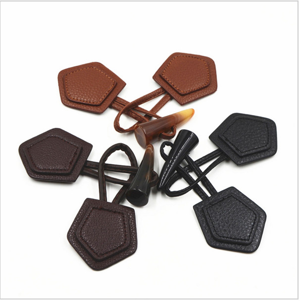 Horn Toggle Button, Duffle Coat Jacket Fasteners Toggle With ...