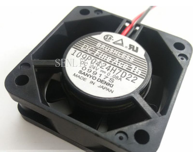 Free Shipping Good Quality Japan's Sanyo4015 DC24V 0.08A 109P0424H7D22 Cooling Fan