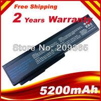 5200mAh Laptop Battery for ASUS A32-M50 A32-N61 A32-X64 A33-M50 L062066 L072051 L0790C6 G50 G50E G50G G50T G50V G50VT G51 N53SV